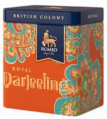 "<b>Чай Richard</b> ""<b>British</b> Colony Royal Darjeeling"" <b>черный</b> листовой 50г"