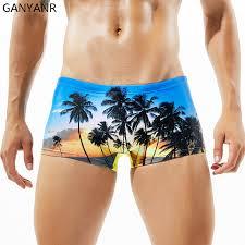 <b>GANYANR Brand Swimming Trunks</b> Men Swimwear Sexy Plus Size ...