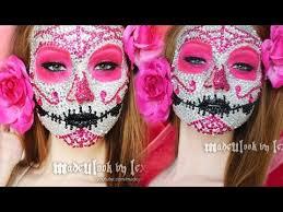 sugar skull makeup tutorial 800 rhinestones original madeulook