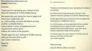 Woman Returns Job Rejection Email With Corrections - ABC News