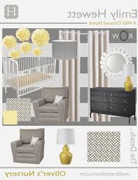 baby nursery ba oliver39s nursery revealed a well dressed home pertaining to elegant grey baby baby nursery yellow grey gender neutral