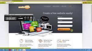 how to create website in min webnode how to create website in 10 min webnode