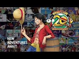 <b>ONE PIECE Animation</b> 20th Anniversary Promotional Video 1999 ...