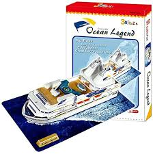 Amazon.co.jp: <b>3d Three-dimensional Puzzle</b> Cruise Ship: Hobby