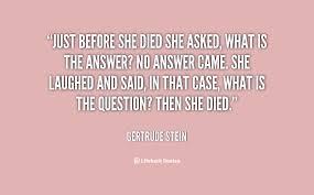 Gertrude Stein Quotes. QuotesGram