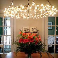 Fairy Rope Hanging Led Lights Magical Chandelier