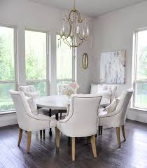 bright breakfast nook with round six seat table 3 breakfast nook lighting