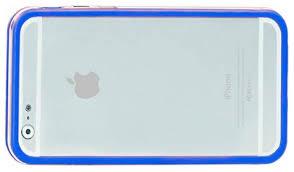 Чехол <b>Promate Bump</b>-<b>i6</b> для Apple iPhone 6/iPhone 6S <b>синий</b>