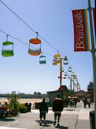 Santa Cruz Beach Boardwalk @ Travel California . Com