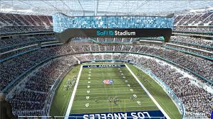 SoFi naming rights for Los Angeles stadium for the Rams and ...
