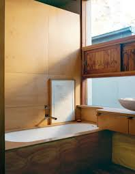dwell bathroom cabinet:  takes on australian bathroom design mate dwell modern traditional japanese style clad in wood