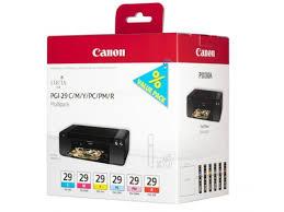 Купить <b>картридж</b> для принтера <b>Canon PGI</b>-<b>29</b> набор 6 ...