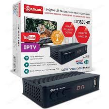<b>Тюнер DVB-T2 D-Color DC820HD</b> | Совместные покупки в ...