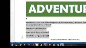 adventure flyer video adventure flyer video