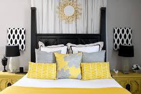yellow and gray bedroom decor grey white and yellow bedding bedroom grey white bedroom