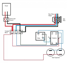 how to build rotary phase converter wiring diagram how rotary phase converter wiring schematic wiring diagram on how to build rotary phase converter wiring diagram