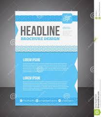 blue business brochure or offer flyer design template brochure blue business brochure or offer flyer design template brochure