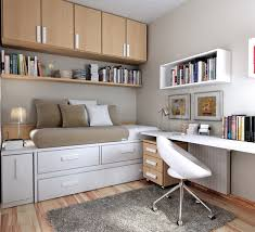 brown and white teenage bedroom decoration with wood storage bedroom furniture teenagers