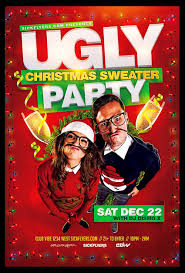 50 amazing christmas and new year s eve flyers for the holiday season ugly christmas sweater party flyer