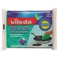 <b>Губка</b> для плит <b>Vileda</b> Пур Актив 2 шт — Тряпки, щетки, <b>губки</b> ...