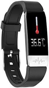 Cxfywb T1S Smart Bracelet Body Temperature ... - Amazon.com