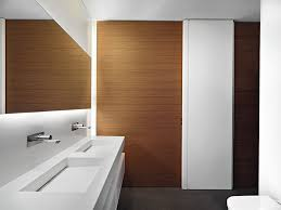 architecture modern bathroom white interior furniture decorating ideas with wood laminate wall covering panels and architectural mirrored furniture design ideas wood