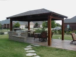 image rustic patio ideas  interior beige fabric cushion square stainless steel fire burner pati