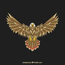 Free Vector | Abstract <b>geometric eagle</b>