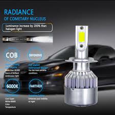 Parts & Accessories 2x <b>C6 Car LED</b> Headlight Conversion Kit COB ...
