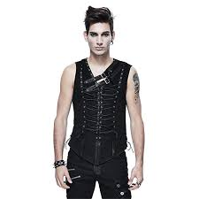 Peony ghost <b>Punk Men</b> Sleeveless Vest <b>T</b>-<b>Shirt</b> Gothic Bandage ...
