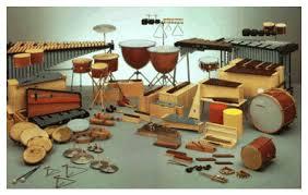 Resultat d'imatges de instruments de percussió