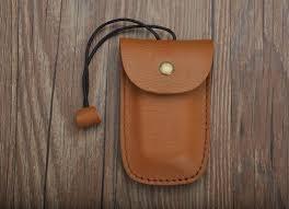 First layer leather <b>key</b> bag <b>original handmade</b> leather <b>key</b> set with rope