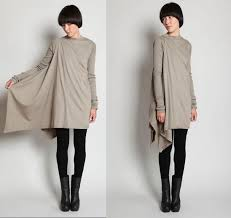 DIY Rick Owens tunic. It's in Russian but it's not <b>hard</b> to figure out ...