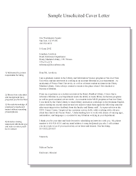 sample cover letter for unsolicited resume sample customer sample cover letter for unsolicited resume cover letters sample cover letters resume cover letters sample pdf