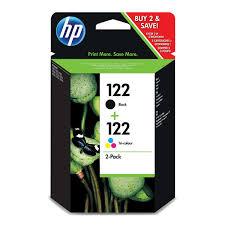<b>Картридж</b> для струйного принтера <b>HP</b> 122 Black/Tri-color <b>CR340HE</b>