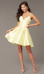 <b>Sexy</b> Low-Cut <b>Dresses</b>, <b>V</b>-<b>Neck Formal</b> Gowns