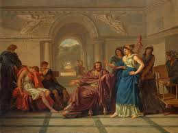 the odyssey telemachus and his development writework jean jacques lagreneacutee helen recognising telemachus son of odysseus wga12378