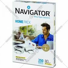 <b>Бумага</b> «<b>Navigator Home</b> Pack» A4, 250 л. - Каталог товаров