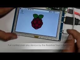 <b>5</b> Inch 840*  480 HDMI <b>Resistive Touch Screen LCD Display</b> ...