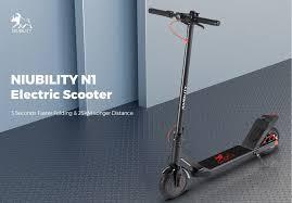 <b>NIUBILITY N1</b> Folding <b>Electric</b> Scooter For Just $269.99 [Flash Sale]
