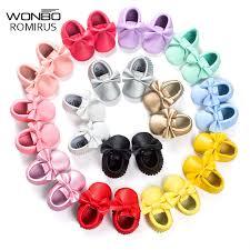 16 Colors Brand Spring <b>Baby Shoes</b> PU <b>Leather Newborn</b> Boys ...