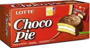 Lotte Choco Pie Печенье Прослоенное Глазированное, 168 Г ...