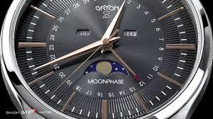<b>Часы</b> Gryon G 138 с лунным календарем. Обзор и видео ...