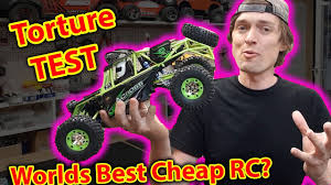 Unboxing & Torture Test - best CHEAP <b>RC</b> Car? <b>wltoys 12428</b> ...