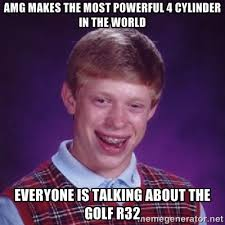AMG makes the most powerful 4 cylinder in the world Everyone is ... via Relatably.com