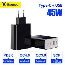 <b>Baseus</b> Speed <b>PPS</b> USB PD 45W Digital Display Quick Charge 4.0 ...