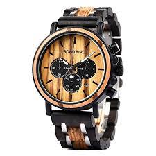 BOBO BIRD Mens Wooden Watches Luxury ... - Amazon.com