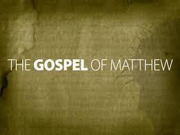 Gospel according to Matthew