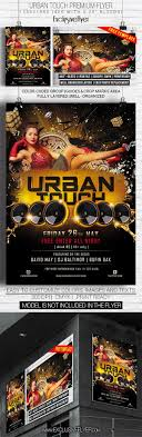 50 party club event psd flyer templates techclient urban touch club and party flyer psd template custom