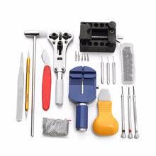 147pcs watchmaker watch link pin remover case opener repair tool kit set spring bar horlogemaker gereedschap